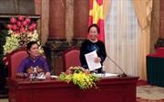Phó Chủ tịch nước tiếp các nữ chức sắc, tôn giáo