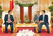 Thủ tướng Nguyễn Tấn Dũng tiếp Phó Thủ tướng Lào Bunpon Buttanavong