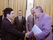 Phó Thủ tướng Phạm Bình Minh tiếp Phó Thư ký Hội đồng An ninh quốc gia Nga
