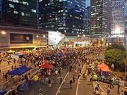 Hong Kong: Vạn bất đắc dĩ mới giải tán biểu tình