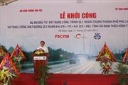 Khởi công Quốc lộ 1, đoạn tránh Phủ Lý, Hà Nam