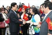 Thủ tướng Nguyễn Tấn Dũng thăm chính thức Vương quốc Bỉ