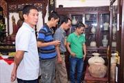 Trưng bày cổ vật và tranh của các danh họa Việt Nam