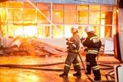 Cháy chợ Bà Côi của người Việt ở Kazan, Nga