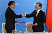 Nga-Trung Quốc ký 38 thỏa thuận hợp tác