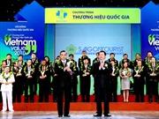 Công bố doanh nghiệp có sản phẩm đạt Thương hiệu Quốc gia