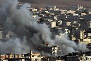 21 cuộc không kích chặn bước IS tại Kobane
