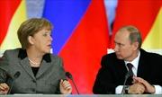 Lãnh đạo Đức, Nga thảo luận về khí đốt và Thỏa thuận Minsk