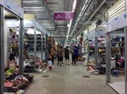 Chợ Mơ truyền thống trước ngày khai trương