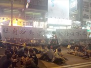 Cảnh sát Hong Kong khôi phục giao thông ở Mong Kok