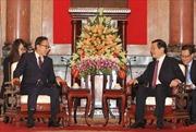 Chủ tịch nước tiếp cựu Tổng thống Hàn Quốc