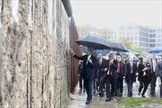 Bên Bức tường Berlin, Ngoại trưởng Mỹ nói về chia cắt Đông-Tây