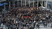 Cảnh sát Đức đụng độ với người biểu tình