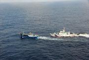 Nhật Bản bắt giữ thuyền trưởng tàu cá Trung Quốc
