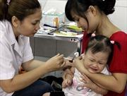 Trên 4,7 triệu trẻ được tiêm vắcxin sởi - rubella