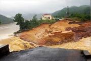 Quảng Ninh: Vỡ đập phụ thủy lợi, nước ngập trắng vùng