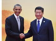 Tổng thống Obama: Mỹ không có ý kiềm chế Trung Quốc