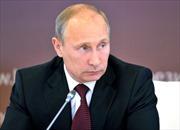 Tổng thống Putin: Biện pháp trừng phạt Nga vi phạm luật quốc tế