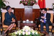 Phó Thủ tướng Phạm Bình Minh tiếp cựu Toàn quyền Canada
