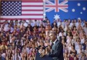 Tổng thống Obama: Mỹ không thể gánh vác kinh tế toàn cầu