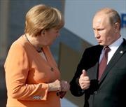 Thủ tướng Đức gặp riêng Tổng thống Nga bên lề G20
