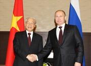 Tổng Bí thư Nguyễn Phú Trọng hội đàm với Tổng thống Putin