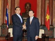 Chủ tịch nước tiếp Thủ tướng Thái Lan