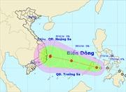 Áp thấp nhiệt đới vào đông nam Biển Đông