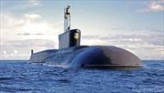 Tàu ngầm Nga bắn thử tên lửa Bulava