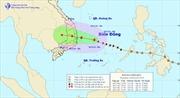 Bão số 4 gây mưa to từ Đà Nẵng đến Bình Thuận