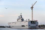 Tàu Mistral Pháp đóng cho Nga bị trộm ghé thăm