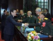 Chủ tịch nước dự Đại hội thi đua yêu nước Hội Cựu chiến binh Việt Nam