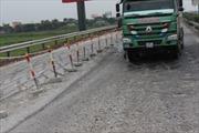 Cao tốc Pháp Vân – Cầu Giẽ: Thi công ì ạch, đường xá bị cắt nát