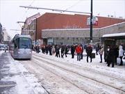 Giao thông Séc tê liệt vì băng tuyết