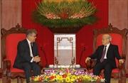 Tổng Bí thư Nguyễn Phú Trọng tiếp Đại sứ Liên bang Nga