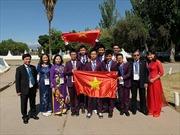 Việt Nam đoạt 2 HCV Olympic khoa học trẻ quốc tế