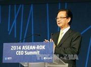 Thủ tướng dự Hội nghị Thượng đỉnh doanh nghiệp ASEAN-Hàn Quốc