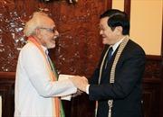 Chủ tịch nước tiếp Chủ tịch Ủy ban Đoàn kết Ấn Độ - Việt Nam bang Tây Bengal