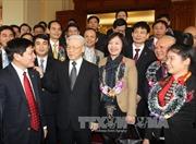 Tổng Bí thư gặp mặt các Bí thư Chi bộ xuất sắc Khối doanh nghiệp Trung ương