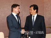 Thủ tướng tiếp Bộ trưởng Thương mại Ủy ban Kinh tế Á-Âu