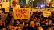 Hàng nghìn người Hungary biểu tình phản đối chính phủ
