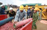 Tăng cường kỹ sư mỏ cứu hộ sập hầm thủy điện