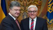 Ngoại trưởng Đức tới Kiev thúc đẩy Thỏa thuận Minsk