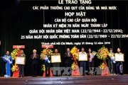 Họp mặt cán bộ cao cấp quân đội đã nghỉ hưu ở TP. Hồ Chí Minh