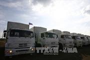 Đoàn xe nhân đạo Nga tới Luhansk