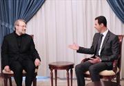 Iran cam kết ủng hộ Syria chống khủng bố