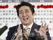 Hạ viện Nhật bầu ông Shinzo Abe làm Thủ tướng