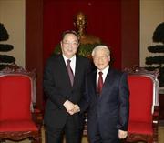 Đoàn đại biểu Đảng Cộng sản và Chính hiệp Trung Quốc thăm Việt Nam