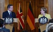 Thủ tướng Đức, Anh nghe báo cáo an ninh sau vụ khủng bố ở Paris