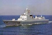 Trung Quốc tăng cường đóng tàu chiến